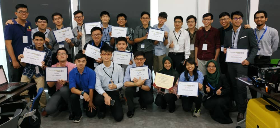 UTM triumphed the Innovate Malaysia Design Competition 2018 winning 12 Prizes from 16 Categories