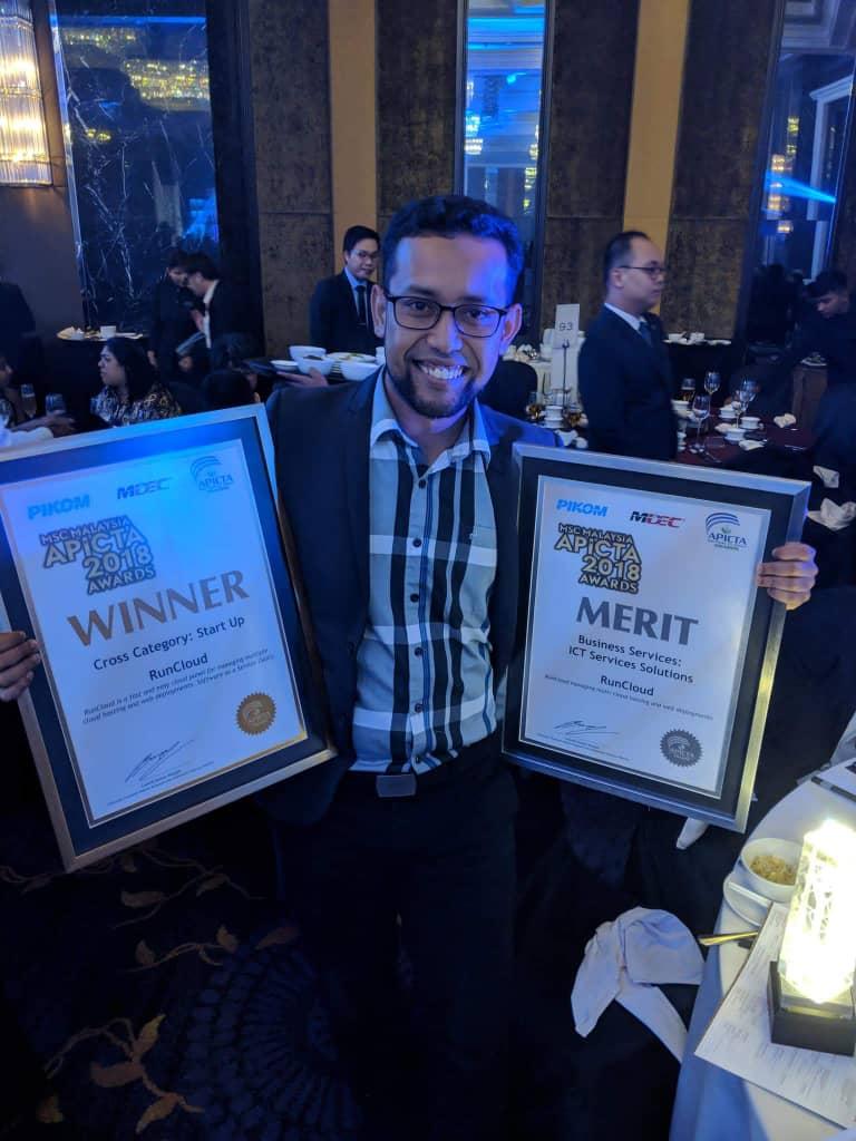 Congratulation Arif Tukiman and RunCloud Team!!!